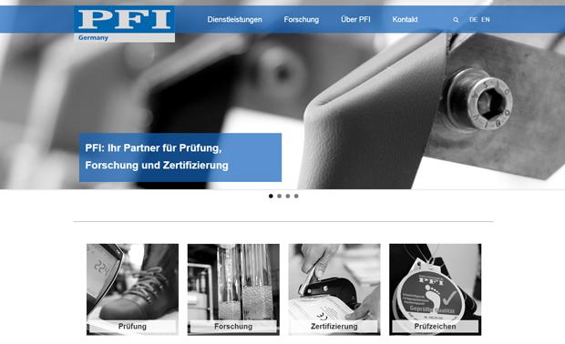 Link zur PFI-Webseite