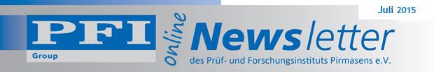 PFI Group Newsletter Dezember 2014