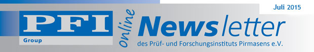 PFI  Newsletter July 2015